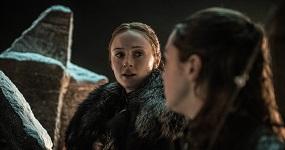 אריה וסאנסה, משחקי הכס, עונה 8, פרק 3. HBO/Helen Sloan