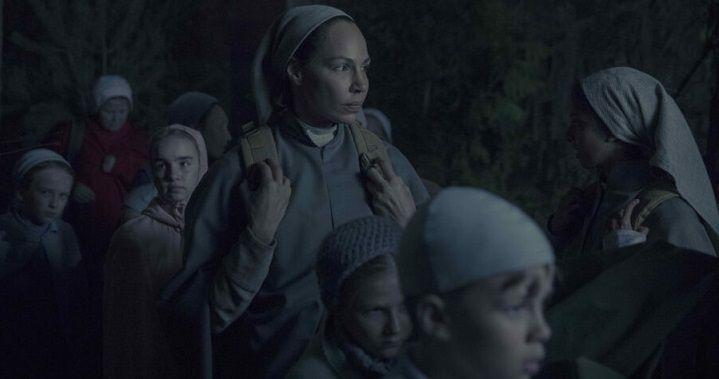 סיפורה של שפחה, הברחת הילדים צילום: Jasper Savage/Hulu